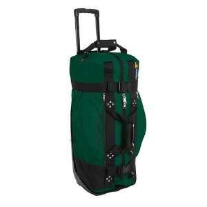New Club Glove Rolling Duffle Travel Bag Green  Sports