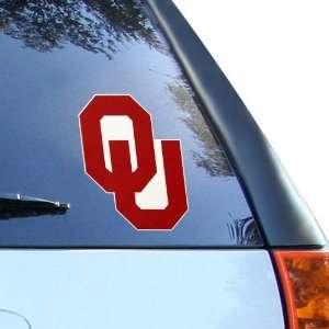 NCAA Oklahoma Sooners 8 Color Team Logo Car Decal