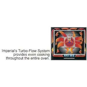 Range ICV 2 38 Turbo Flow Double Deck Convection Ovens Appliances