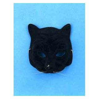 Black Panther Halloween Costume Face Mask: Clothing