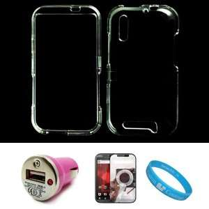 Clear 2 Piece Protective Crystal Hard Snap On Protector