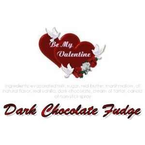Be My Valentine Dark Chocolate Fudge Box  Grocery