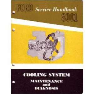 1962 1963 FORD Car Truck Cooling System Service Manual