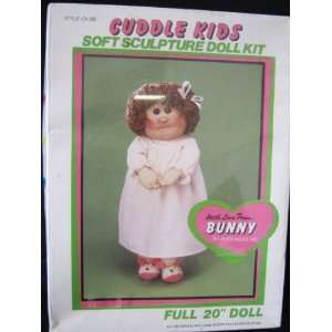 Cuddle Kids Soft Sculpture Doll Bunny Everything Else