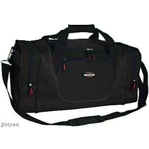 24 Adventurer Gym Sport Duffel Duffle Travel Tote Bag  BLACK