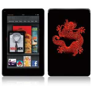 Dragonseed Design Decorative Skin Decal Sticker for  Kindle Fire