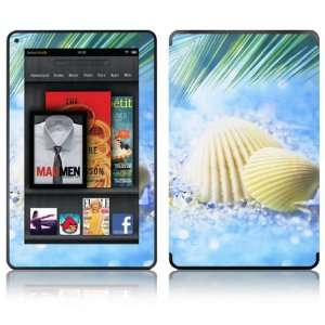 Shell Design Decorative Skin Decal Sticker for  Kindle Fire