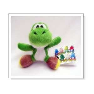 Super Mario Brothers  Yoshi Plush Key Chain   5 (Green