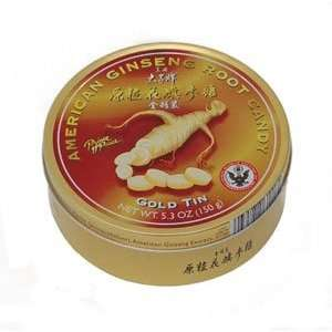 American Ginseng Root Candy   Gold Tin Grocery & Gourmet Food