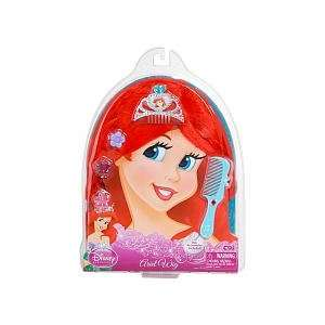 Disney Princess Ariel Wig   Hair Accessories Included Toys & Games