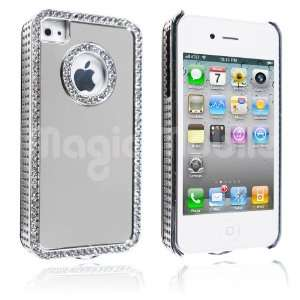 Silver / Silver Rhinestone s*Gratis Stylus*: Cell Phones & Accessories
