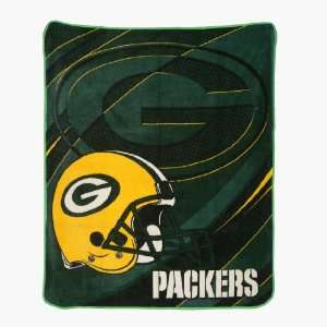 NFL Green Bay Packers Super Soft Plush Blanket / Fleece Couch Throw