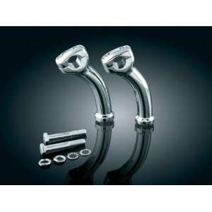 KURYAKYN CHROME SMOOTH STYLE RISERS FOR HARLEY 1725 Automotive