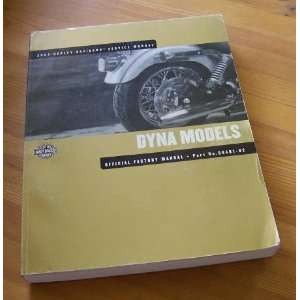 Manual   Part No. 99481 02 (2002 Dyna Glide): Harley Davidson: Books