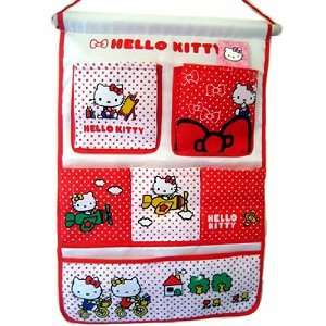 Hello Kitty  Wall Organizer (Red) Toys & Games