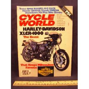 BMW R 100 RS, Honda CB 400 F, & Suzuki RM 125 B): Cycle World: Books