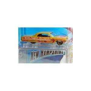 Hot Wheels Connect Cars 64 Chevy Impala New Hampshire Toys & Games