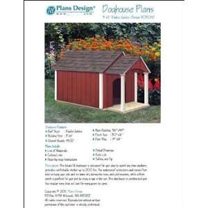 Dog House / Pet Kennel Project Plans, Gable Double Roof