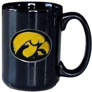 College Logo Mug   Iowa Hawkeyes (Quantity of 1): Sports