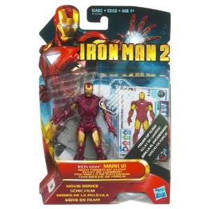 Iron Man 2 Concept 3.75 Inch Figure Iron Man Mark VI With