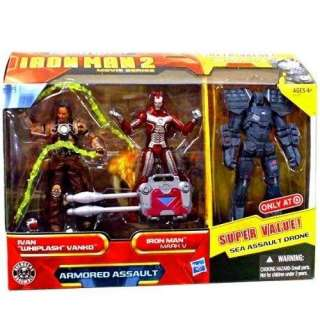 Ivan Whiplash Vanko, Iron Man Mark V Sea Assault Drone Toys & Games