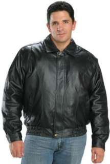 Classic Mens Leather Bomber Jackets Clothing