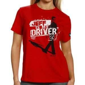 NASCAR Chase Authentics Jeff Gordon Ladies Shadow T Shirt
