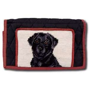 Claws Collection Black Labrador Lab Dog Puppy Large wallet