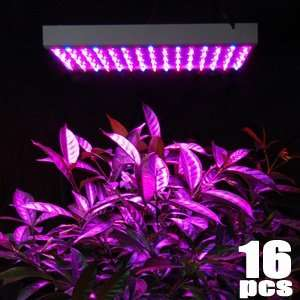 Herb Flower Growing Grow LED Light Lamp Panel: Patio, Lawn & Garden