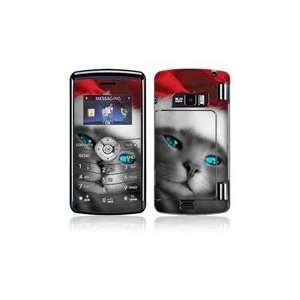 LG enV3 VX9200 Skin Decal Sticker   Christmas Kitty Cat