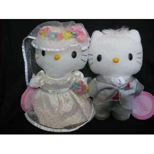 Hello Kitty Sweetheart Wedding Bridal Plush SET w/ Kitty