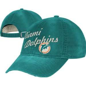 Reebok Miami Dolphins Lifestyle Slouch Adjustable Hat