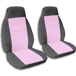 charcoal and sweet pink seat covers for a 2002 Mini Cooper, please