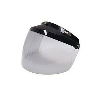 500 Open Face Motorcycle Helmet Medium Matte Black Solid Automotive