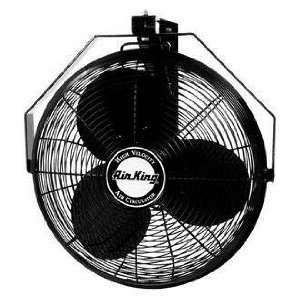 9518 1/6 HP Industrial Grade Wall Mount Fan, 18 Inch
