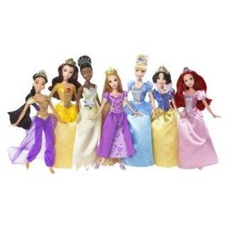 Disney Princess Ultimate Doll Collection Rapunzel Tiana Jasmine Belle