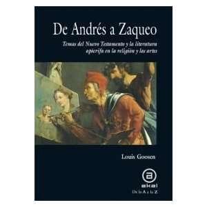 De Andres a Zaqueo. Temas del Nuevo Testamento y la