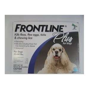 Frontline Plus Dogs 23 44 Lbs Size 3 APPLIC
