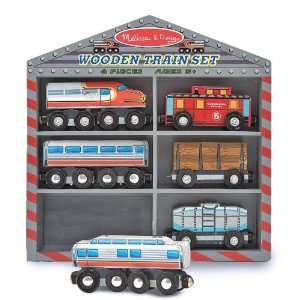 Train Cars Set + Free Gift   Fits Thomas Train Tracks: Toys & Games