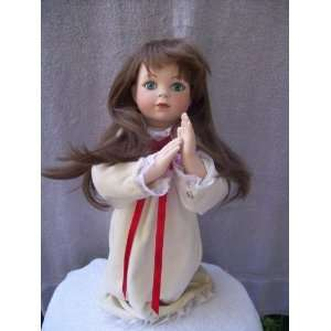 Christmas Prayer Porcelain Doll a Zolan Creation Everything Else