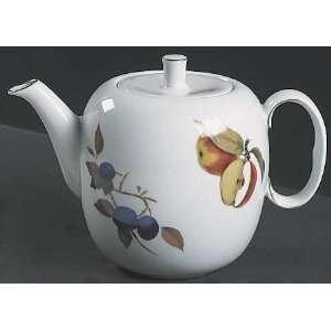 Royal Worcester Evesham Gold (Porcelain) Tea Pot & Lid