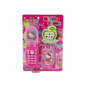 Sanrio Hello Kitty Pretend Play Toy Cellphone With Sound