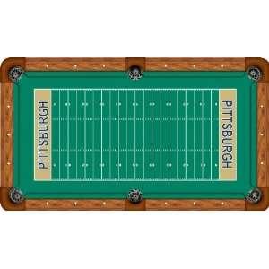 University of Pittsburgh Pool Table Felt   Professional 8ft   Football