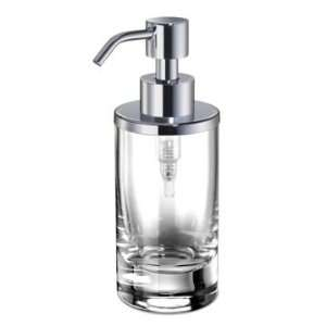 90462 Round Clear Crystal Glass Soap Dispenser 90462 Home & Kitchen