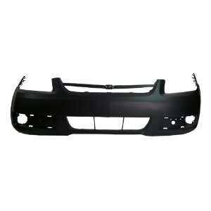 CV04112BC TY5 Chevy Cobalt Primed Black Replacement Front Bumper Cover