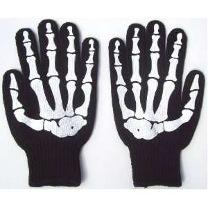 with Rubber Grippers on Palm X ray Gothic Goth Punk Emo Rockabilly