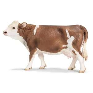 Schleich Simmental Cow  Toys & Games