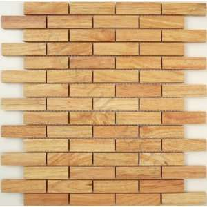 Crema Uniform Brick Cream/Beige Wood Series Matte Wood