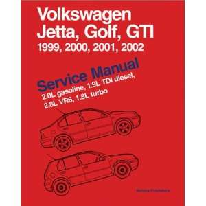 Volkswagen Jetta, Golf, GTI Service Manual 1999 2002  2.0L gasoline
