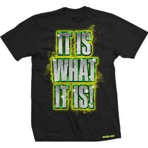 Shake Junt Is What It Is Small Black Short SLV: Sports